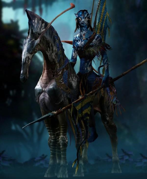Na'vi direhorse, Kr. u. 22. század (Forrás: wikia)