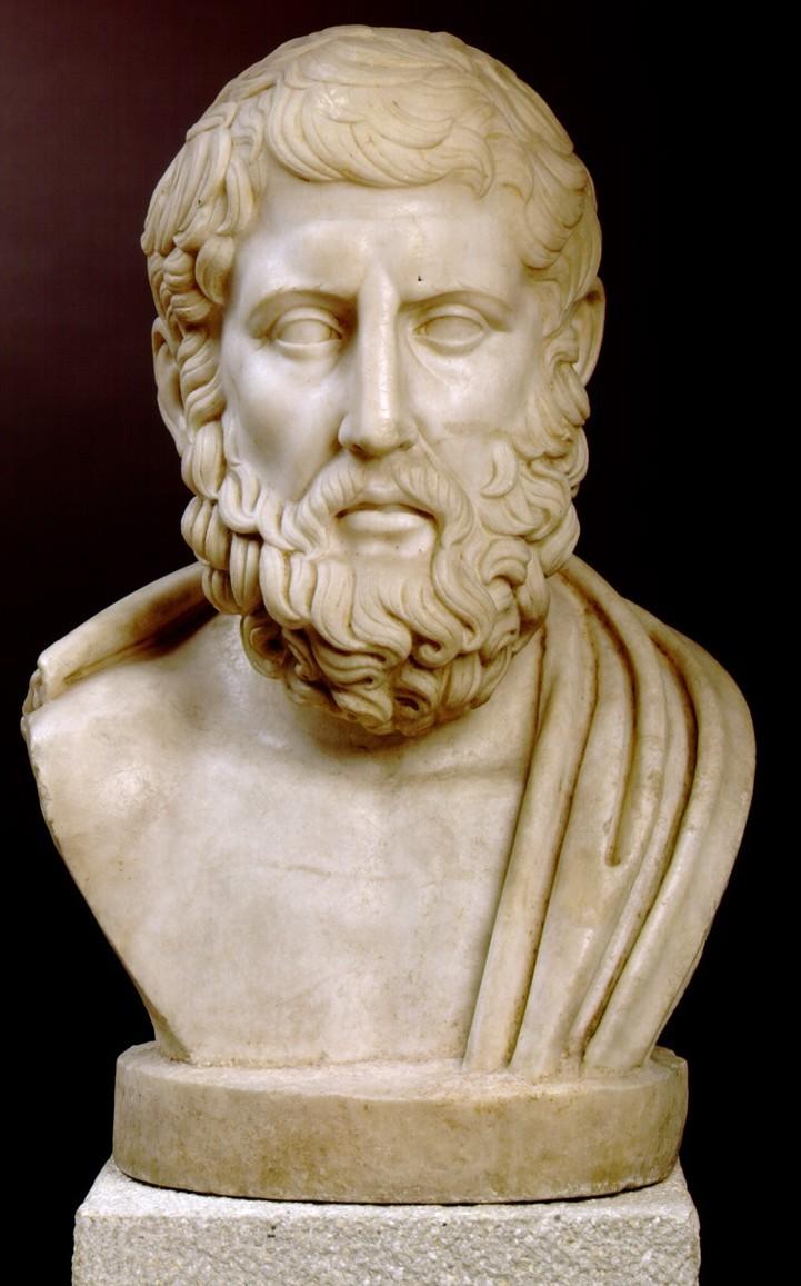 Hermarchos filozófus képmása