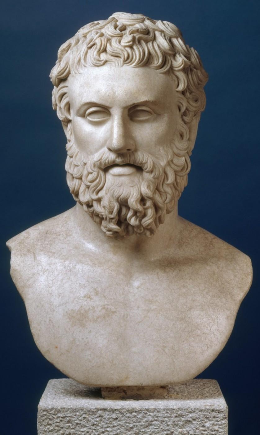 Ismeretlen görög filozófus képmása (ún. Pittakos)