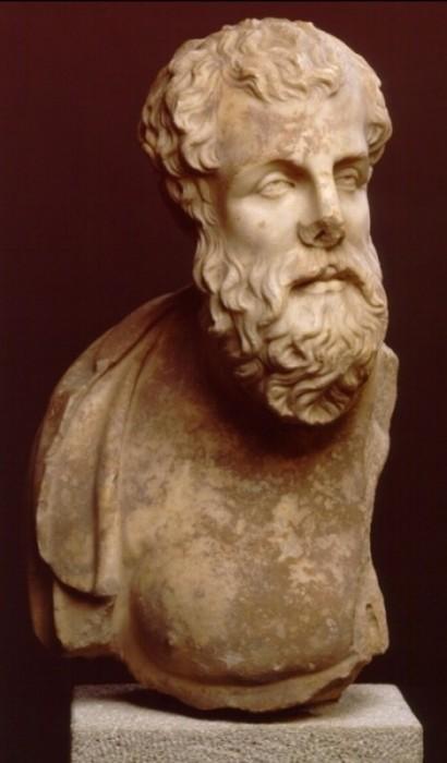 Ismeretlen filozófus mellképe Kis-Ázsiából