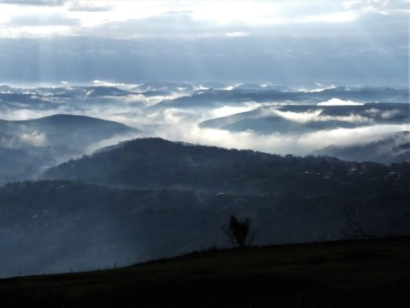 A Mesima-folyó völgye. Francesco Cuteri felvétele