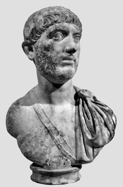 Férfi mellszobra. New York, The Metropolitan Museum of Art. Fotó: Hans R. Goette szíves közreműködésével