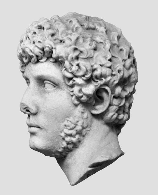 Portré Hadrianus tiburi villájából. Fotók: a Deutsches Archäologisches Institut, Rom engedélyével