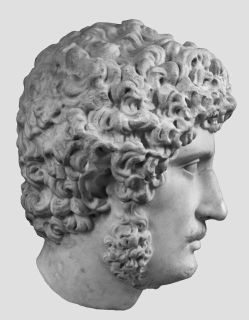 Hadrianus-portré. Madrid, Museo Nacional del Prado. Fotók: Deutsches Archäologisches Institut, Madrid engedélyével