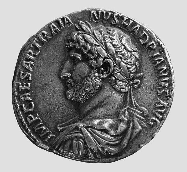 Ezüstérme Hadrianus portréjával © Münzkabinett der Staatlichen Museen zu Berlin - Preußischer Kulturbesitz