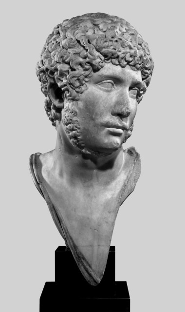 Bust of Hadrian. Photo: Courtesy Columbia, Museum of Art and Archaeology