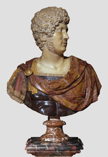 Post-antique bust of Hadrian. Private collection. Photo: Courtesy Tomasso Brothers Fine Art, London.