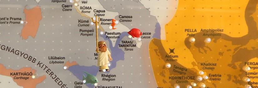 Ókori vizeken – levelező pályázat
